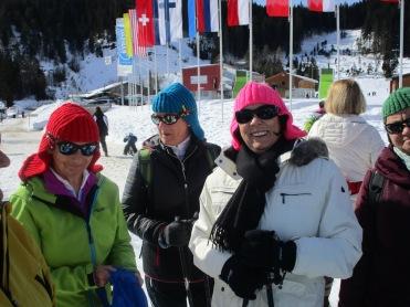 Anneliese, Barbara und Angelka