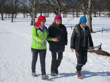 Anneliese, Hilde und Barbara