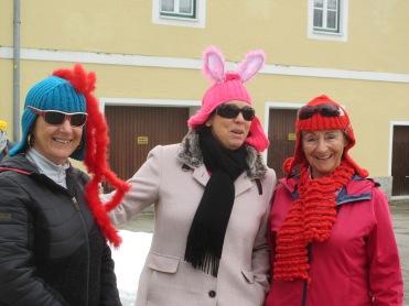 Barbara, Angelika und Anneliese