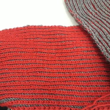 zweifärbiger Schal von Barbara