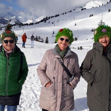 Renate, Linde und Hilde