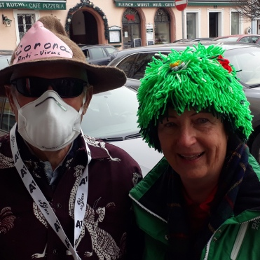 Corona-Virus & Barbara Tagwercher