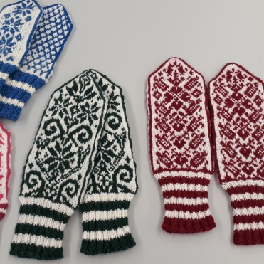 Gretis wunderbare Norweger Handschuhe