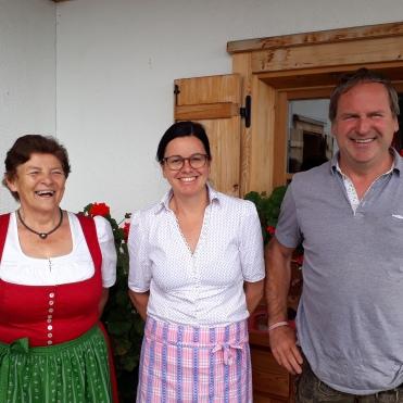 Greti Wieser, die Tante der Almleute Silvia & Cyriak